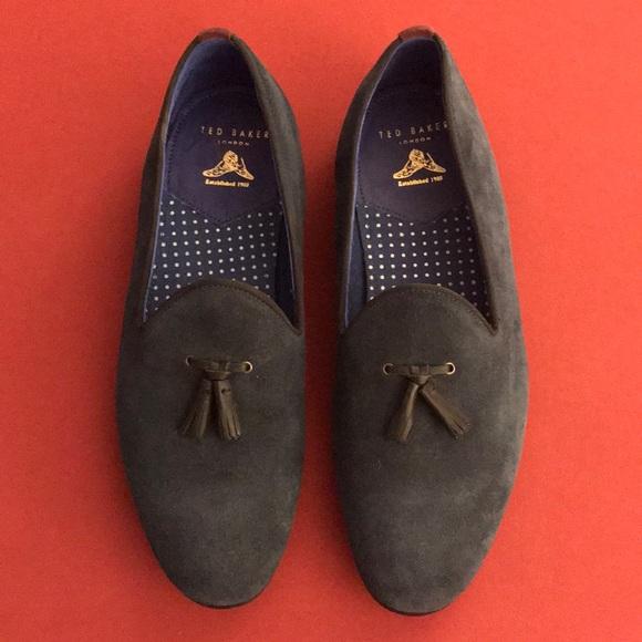 Shoes | Ted Baker Blue Loafer | Poshmark